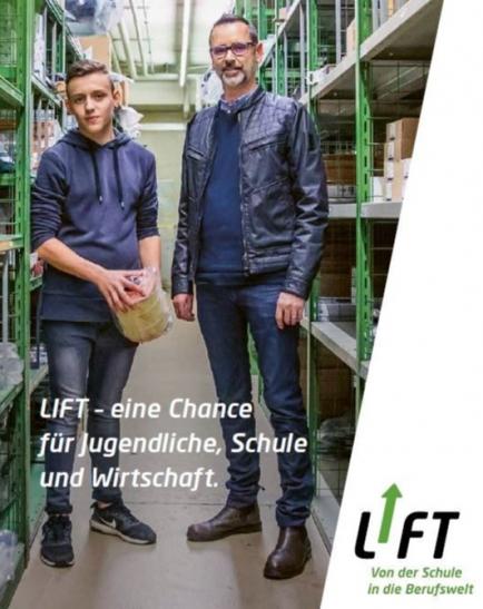 LIFT - eine Chance für Jugendliche, Schule und Wirtschaft